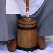 Using a Viking Butter Churn
