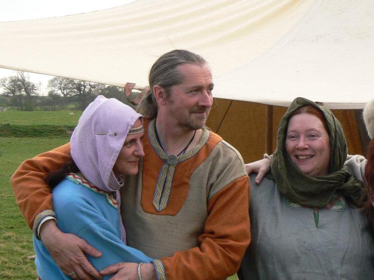 Group of vikings