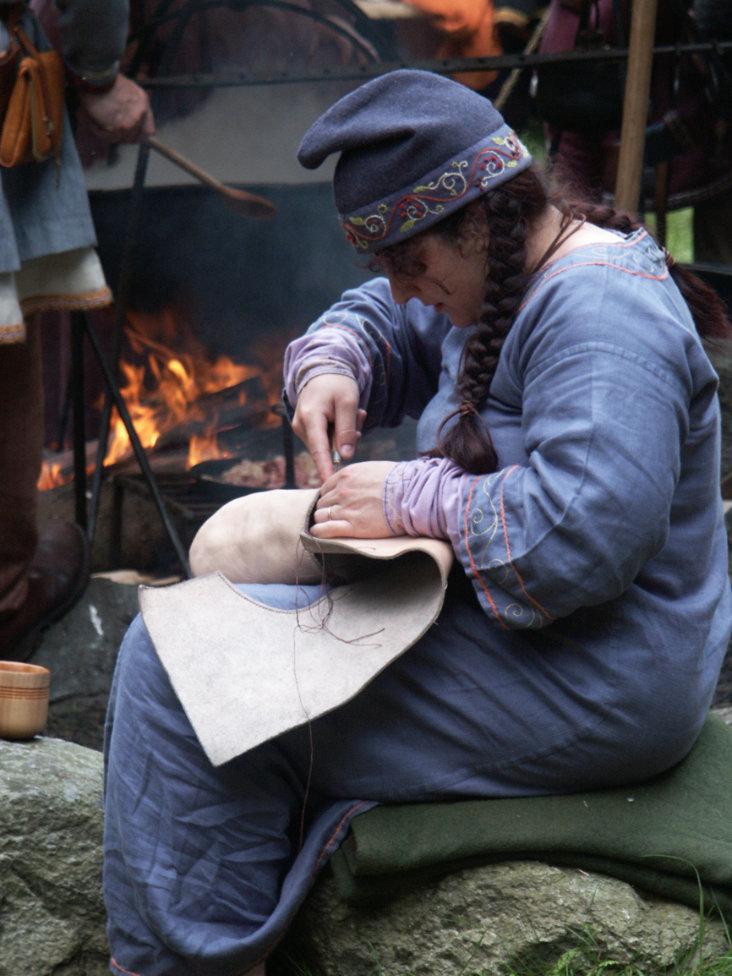 Making a viking turn shoe