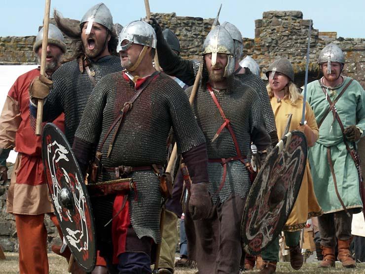 Raiders at Lindisfarne