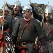 Raiders at Lindisfarne
